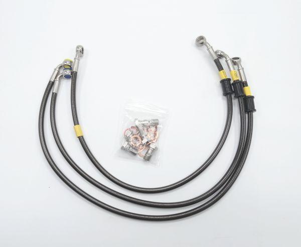 HEL Racing Stahlflex Bremsleitung Set Suzuki GSXR 600 750 2011-18