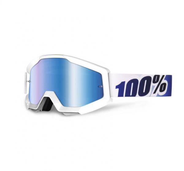 100% Crossbrille Strata Ice Age - blau verspiegelt