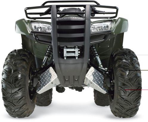A-Arm Unterfahrschutz Suzuki LTA750 LTA700 LTA500 LTA450 King Quad Boot Guards