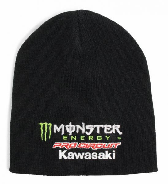 Monster Energy Mütze Team Kawasaki Pro Circuit Beanie