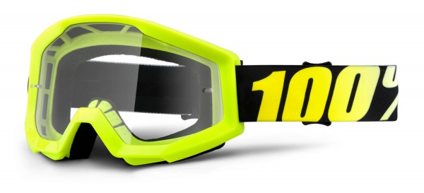 100% Crossbrille Strata yellow - klar