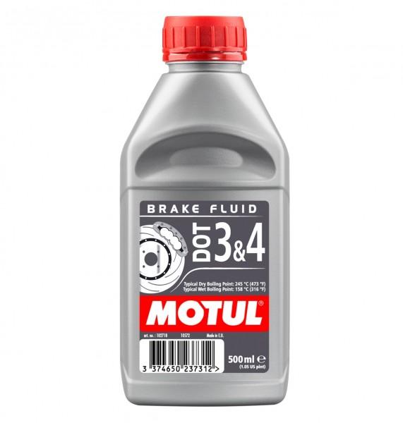 Motul Bremsflüssigkeit Brake Fluid - DOT 3 & 4