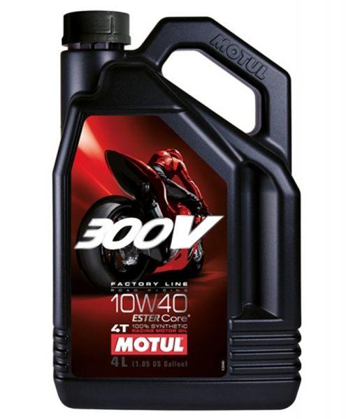 Motul 300V 4T Factory Line Road Racing 10W40 4L Motoröl