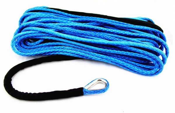 Moose Utility Synthetik Nylon Seilwinden Seil blau 15 m x 5 mm