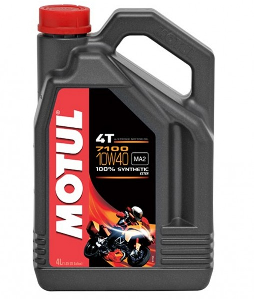 Motul 7100 4T 10W40 vollsynthetisch Motoröl 4L