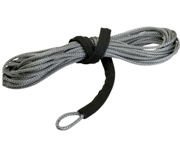 Warn Synthetic Nylon Seilwinden Seil grau 15 m x 5 mm