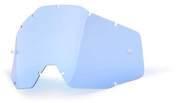 Ersatzglas Blau für 100% Racecraft, Accuri, Strata MX Brille