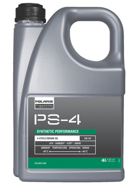 Polaris Original PS-4 Motoröl 5W-50 vollsynthetisch 4T - 4 Liter