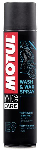 Motul E9 Wash & Wax Spray