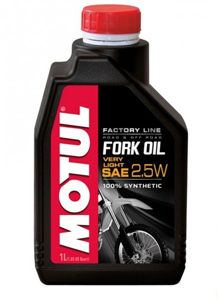 Motul Fork Oil Gabelöl Factory Line Very Light 2.5W