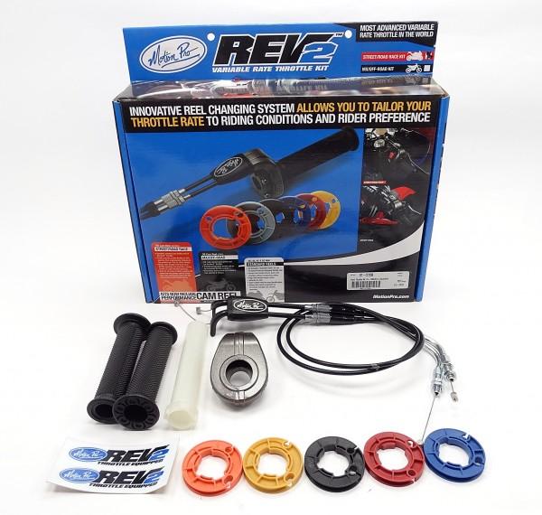 Motion Pro Rev2 Racing Kurzhubgasgriff Suzuki GSX-R 600 750 2008-10