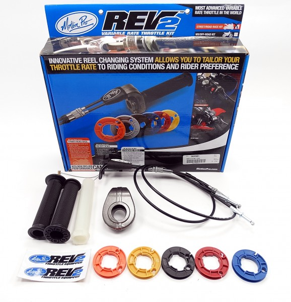 Motion Pro Rev2 Racing Kurzhubgasgriff Kawasaki ZX-6R 636 2013-17