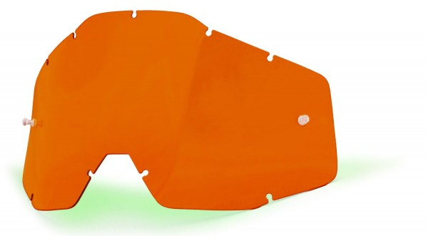 Ersatzglas Orange für 100% Racecraft, Accuri, Strata MX Brille