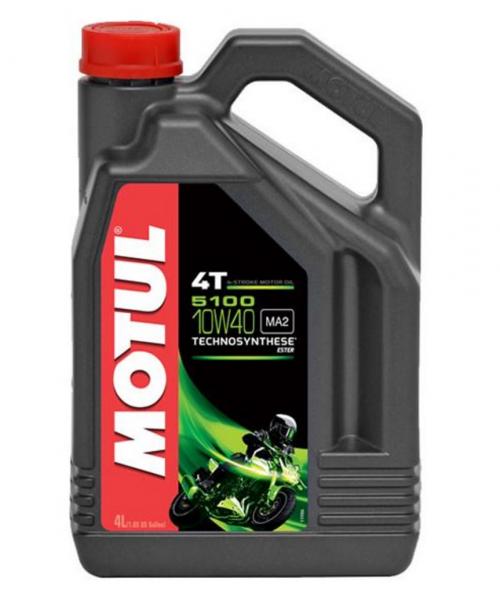Motul 5100 4T 10W40 teilsynthetisch Motoröl 4L