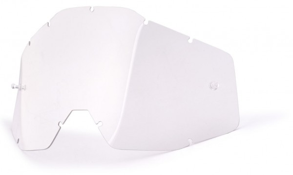 Ersatzglas Klar für 100% Youth Accuri, Strata Kinder MX Brille