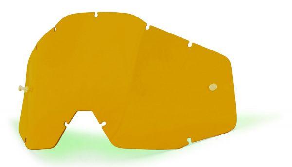 Ersatzglas Persimmon für 100% Racecraft, Accuri, Strata MX Brille