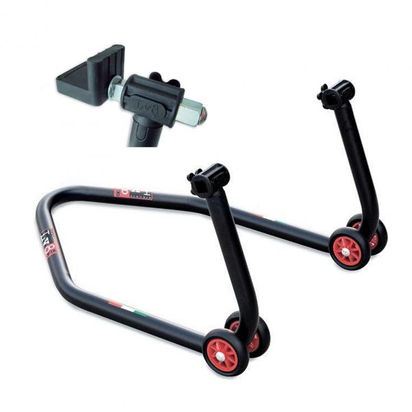 LV8 Diavol Motorrad Hinterrad Montageständer mit L-Aufnahme