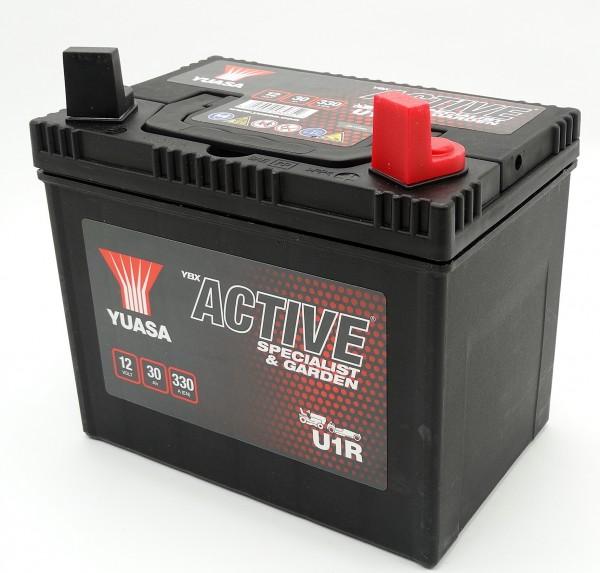 Yuasa U1R Gatengeräte Batterie 12V 30AH