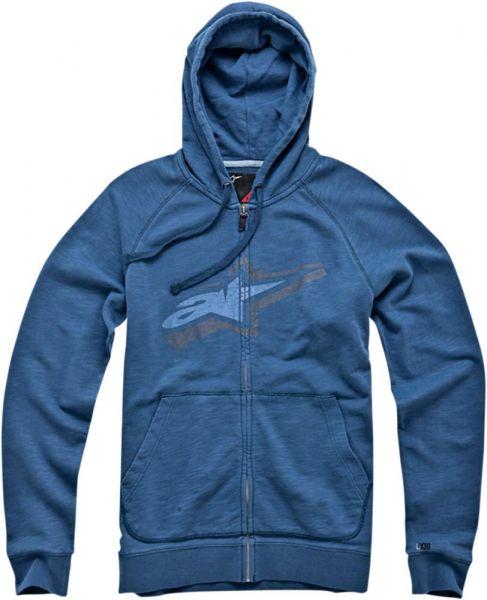 Alpinestars Zip Hoody Wakefield Navy blau Gr. M