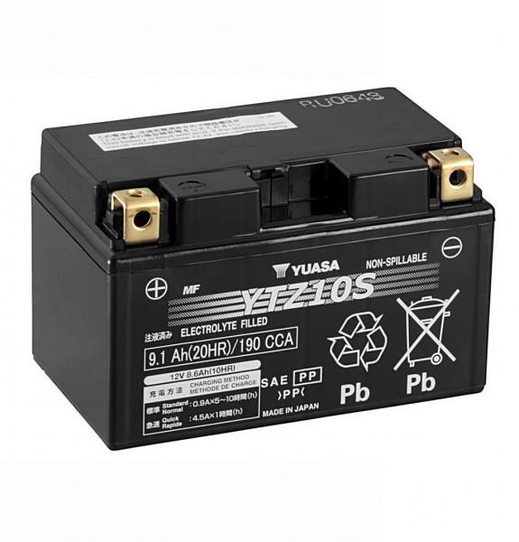 Yuasa YTZ10S AGM Batterie 12V 8,6AH (YTZ10S-BS, YTZ10S-4)