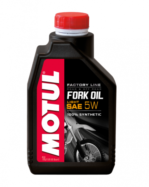 Motul Fork Oil Gabelöl Factory Line Light 5W