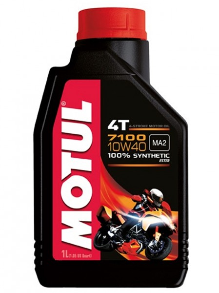 Motul 7100 4T 10W40 vollsynthetisch Motoröl 1L