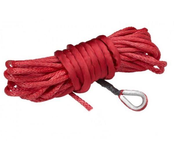 Moose Utility Synthetik Nylon Seilwinden Seil rot 15 m x 5 mm