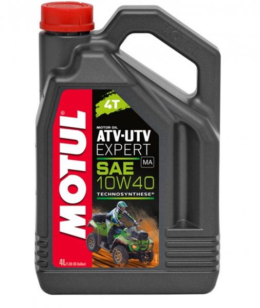Motul ATV UTV Expert 4T 10W40 Motoröl 4L