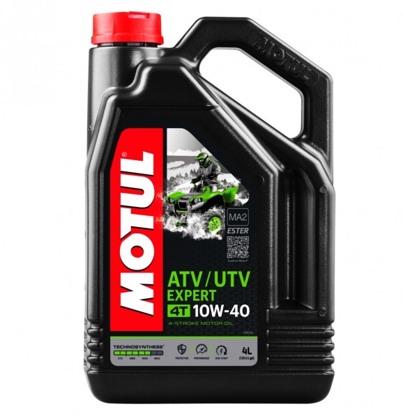 Motul Motoröl ATV / UTV Expert 4T 10W40 - 4 Liter