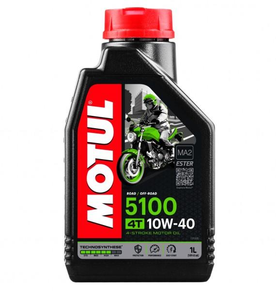 Motul Motoröl 5100 4T teilsynthetisch 10W40 - 1 Liter