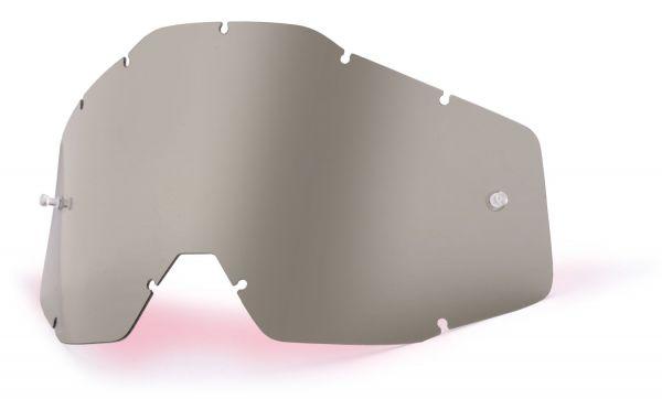 Ersatzglas Smoke für 100% Youth Accuri, Strata Kinder MX Brille