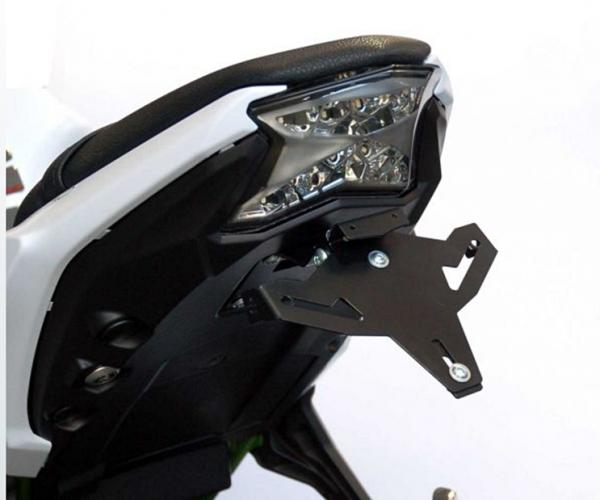 Kennzeichenhalter GP Pro Style Set Kawasaki Ninja 650 2017-