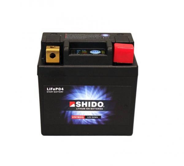 Shido LTKTM04L Lithium Ionen Batterie 12V LiFePO4
