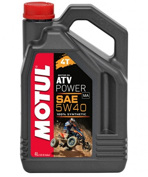 Motul ATV Power 4T 5W40 Motoröl 4L