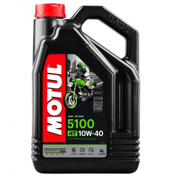 Motul Motoröl 5100 4T teilsynthetisch 10W40 - 4 Liter
