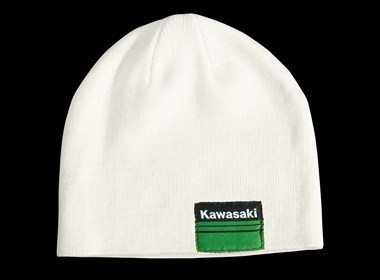 Sports2 Mütze Beanie weiß Original Kawasaki Bekleidung