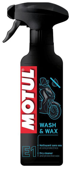 Motul E1 Wash & Wax Pumpspray